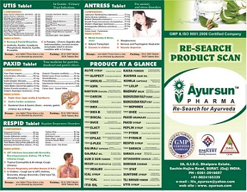 Wanted-Ayursun Ayuvedic Pharma Company want distributor